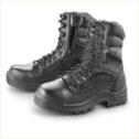 Men's HQ ISSUE Side Zip Tactical Boots Waterproof Black