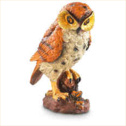 CASTLECREEK Motion Sensor Garden Owl Decoy