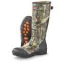 Men's Guide Gear Waterproof 800 gram Thinsulate Ultra Insulation Ankle-fit Rubber Boots Mossy Oak Infinity