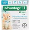 Advantage II Once-A-Month Cat & Kitten Topical Flea Treatment - Advantage Flea Control and Flea Medicine for Cats