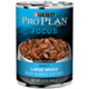Pro Plan Focus Large Breed Adult Canned Dog Food at PETCO