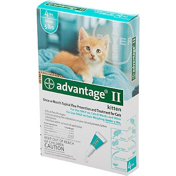 Advantage Ii For Dogs And Cats