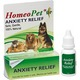 HomeoPet Anxiety Relief Natural Homeopathic Remedy for Pets