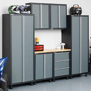 Newage Products Metal Garage Cabinetry 187 Storage 187 Video