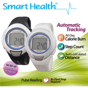 Smart Health Walking Fit Heart Rate Monitor Watch