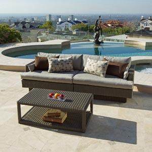 Portofino Signature 2-piece Sofa Sectional and Coffee ...